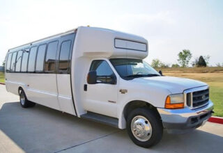 20 Passenger Shuttle Bus Rental Colonial Heights