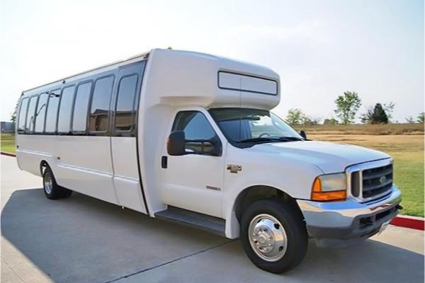 20 Passenger Shuttle Bus Rental Highland Springs