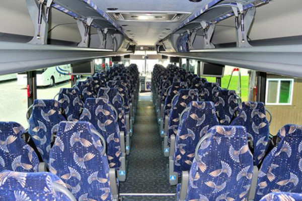 40 Person Charter Bus Highland Springs