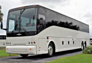 50 Passenger Charter Bus Suffolk