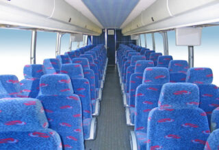 50 Person Charter Bus Rental Highland Springs