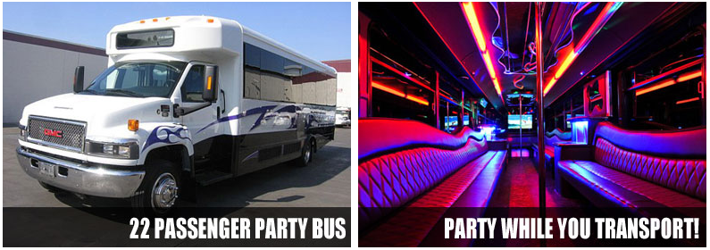 Kids Party Bus Rentals Virginia Beach