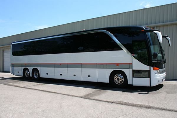Virginia Beach 56 Passenger Charter Bus